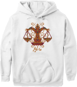 Libra Zodiac Sign Star Sign Hoodie